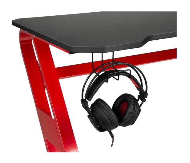 SpeedLink SCARIT Gaming Desk (Czarno-Czerwone) - 487363 - zdjęcie 3