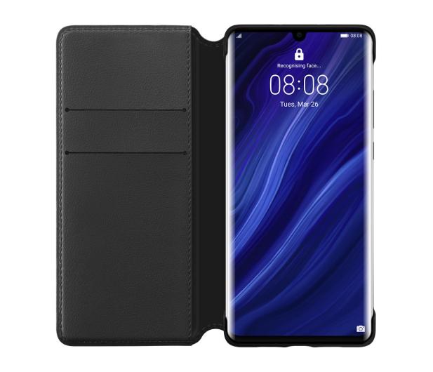 Huawei Wallet Cover do Huawei P30 Pro czarny - 484469 - zdjęcie 3