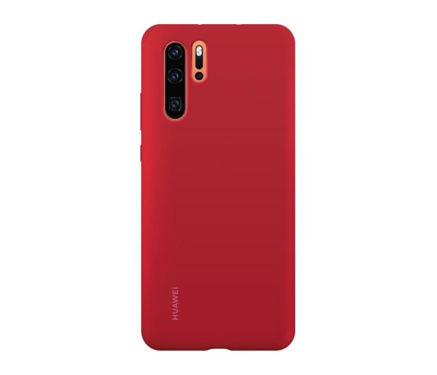 Huawei Silicone Case do Huawei P30 Pro czerwony - 484454 - zdjęcie