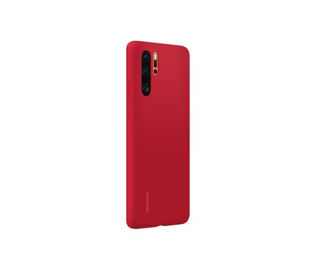 Huawei Silicone Case do Huawei P30 Pro czerwony - 484454 - zdjęcie 3