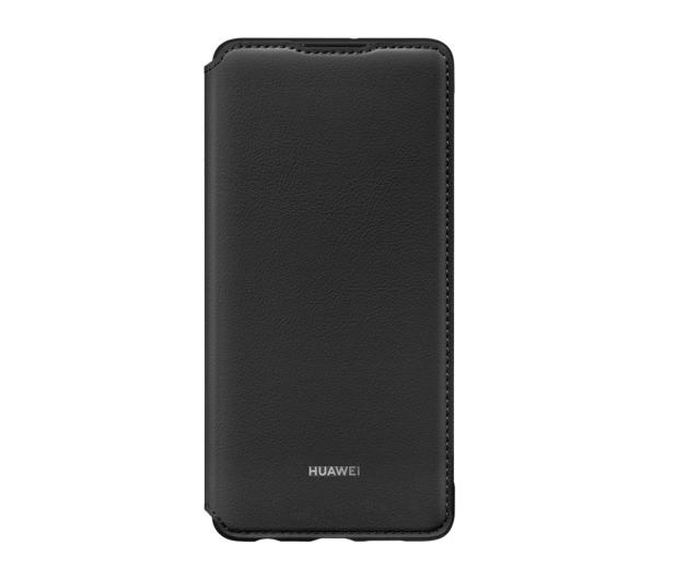 Huawei Wallet Cover do Huawei P30 czarny - 484510 - zdjęcie