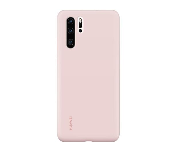 Huawei Silicone Case do Huawei P30 Pro różowy - 484453 - zdjęcie