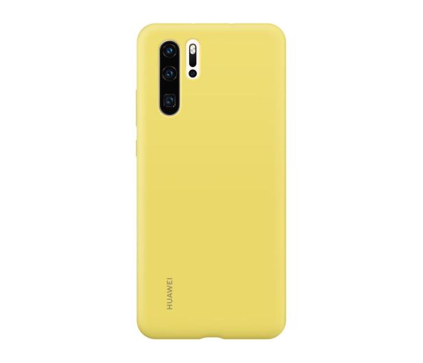 Huawei Silicone Case do Huawei P30 Pro żółty - 484456 - zdjęcie