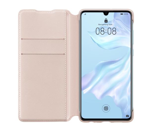 Huawei Wallet Cover do Huawei P30 różowy  - 484511 - zdjęcie 3
