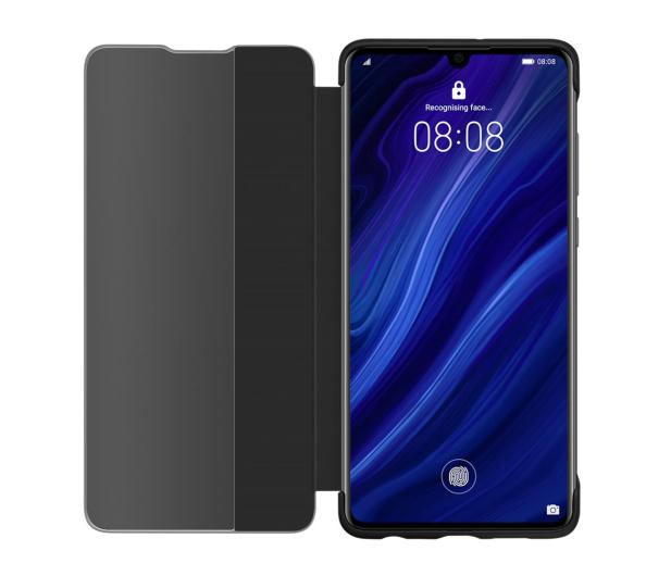 Huawei Smart View Flip Cover do Huawei P30 czarny  - 484507 - zdjęcie 4