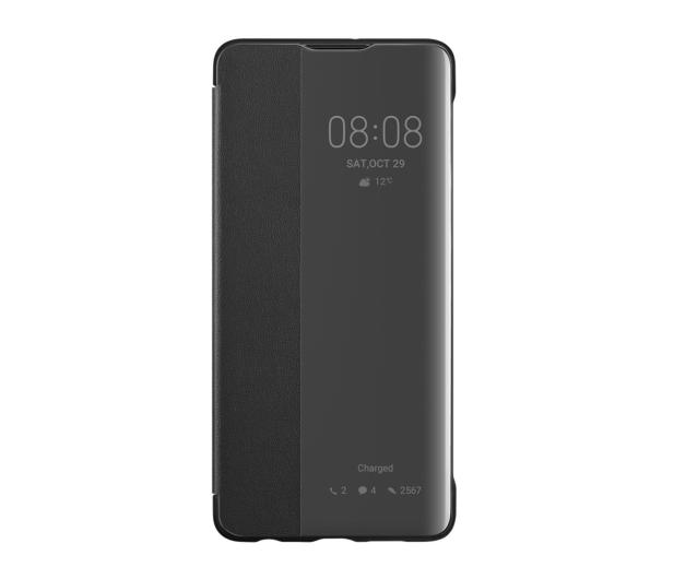 Huawei Smart View Flip Cover do Huawei P30 czarny  - 484507 - zdjęcie