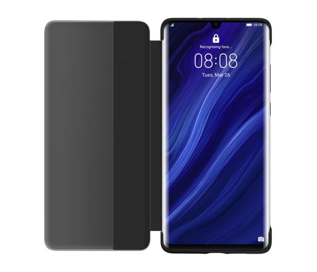 Huawei Smart View Flip Cover do Huawei P30 Pro czarny - 484466 - zdjęcie 4