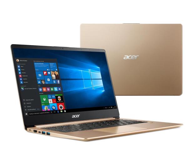 Acer Swift 1 N5000/4GB/240/Win10 IPS FHD złoty - 488053 - zdjęcie