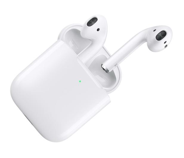 Apple NEW AirPods 2019 z bezprzewodowym etui ładującym - 487388 - zdjęcie 2