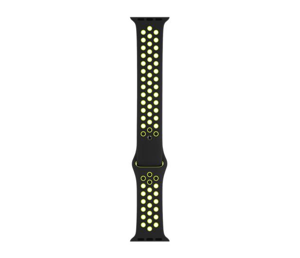 Apple Pasek sportowy Nike czarny/zielonożółty 40mm - 487887 - zdjęcie 3