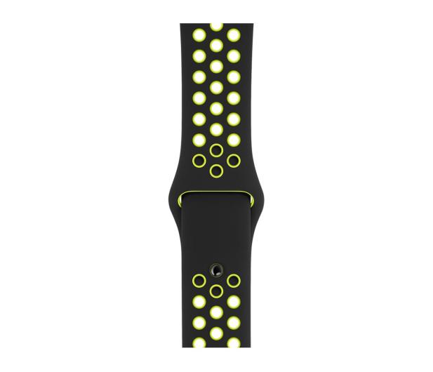 Apple Pasek sportowy Nike czarny/zielonożółty 40mm - 487887 - zdjęcie