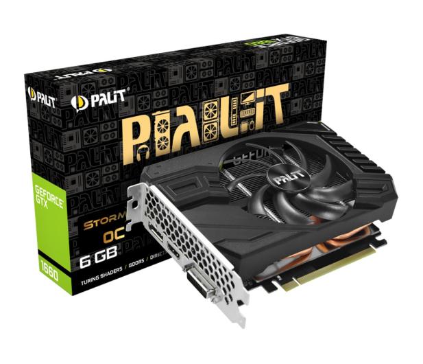 Palit GeForce GTX 1660 StormX OC 6GB GDDR5 - 485759 - zdjęcie