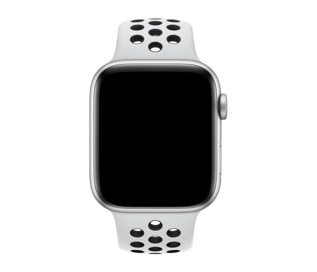 Apple Pasek sportowy Nike biało/czarny do koperty 44 mm - 488008 - zdjęcie 2