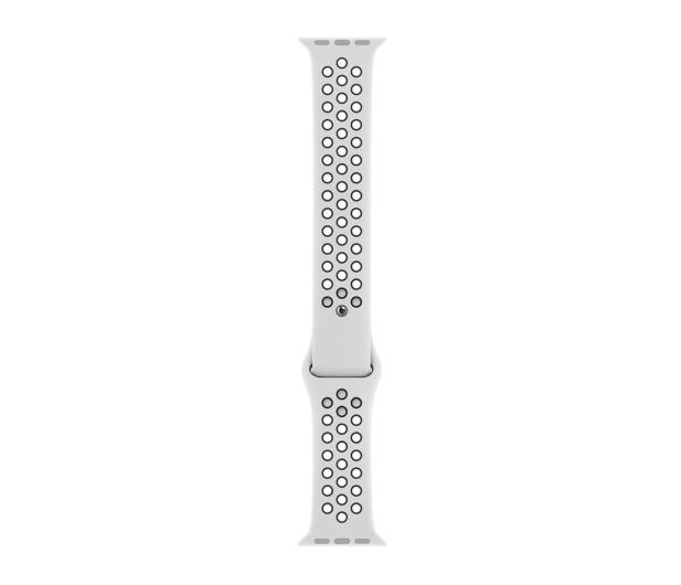 Apple Pasek sportowy Nike biało/czarny do koperty 44 mm - 488008 - zdjęcie