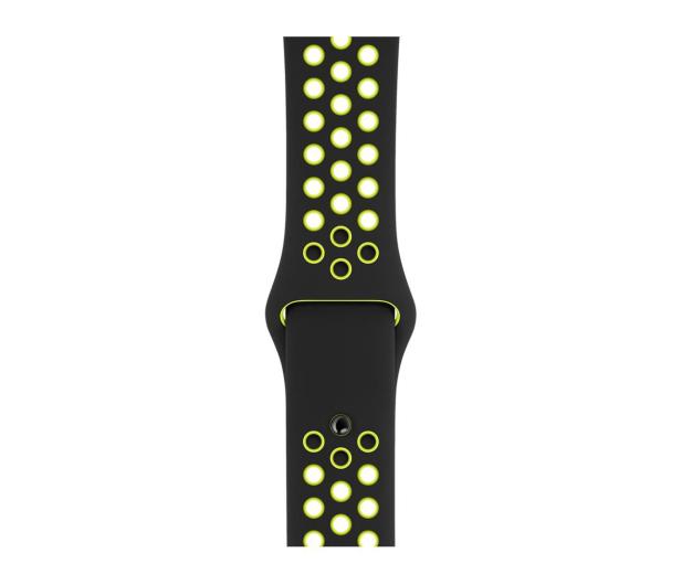 Apple Pasek sportowy Nike czarny/zielonożółty 44mm - 488004 - zdjęcie 3