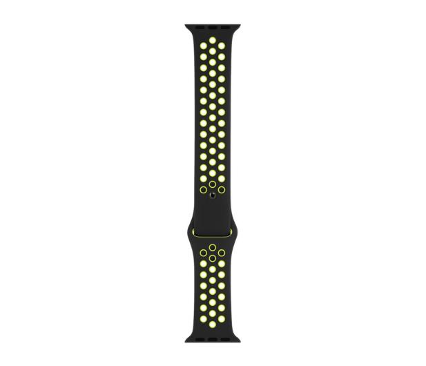 Apple Pasek sportowy Nike czarny/zielonożółty 44mm - 488004 - zdjęcie