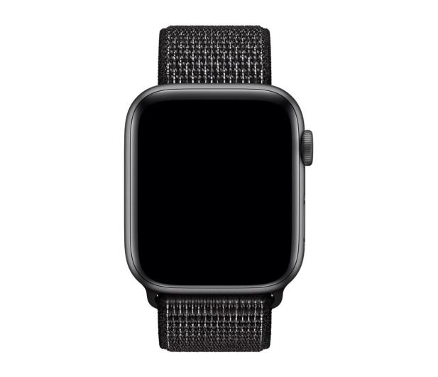 Apple Opaska sportowa Nike czarna do koperty 44 mm - 487990 - zdjęcie 2