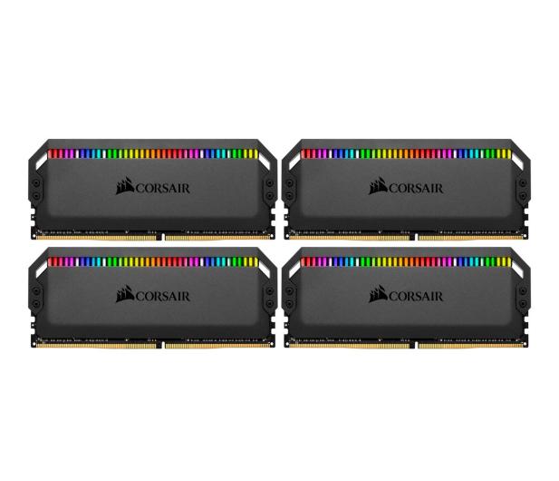 Corsair 32GB 3600MHz Dominator PLATINUM RGB CL18 (4x8GB) - 488245 - zdjęcie