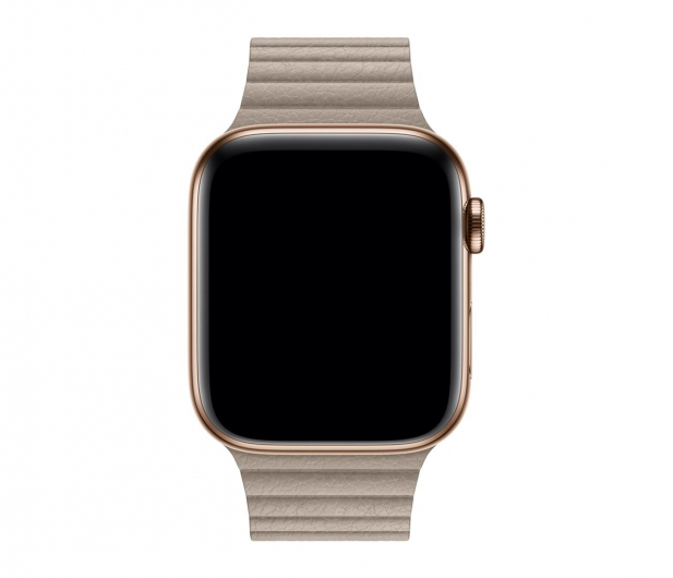 Apple Opaska skórzana piaskowa koperty 44 mm L - 488015 - zdjęcie 2