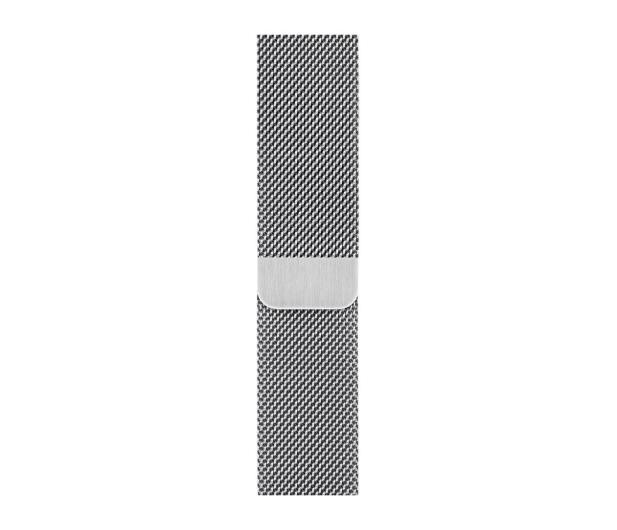 Apple Bransoleta Mediolańska do Apple Watch srebrny - 488013 - zdjęcie
