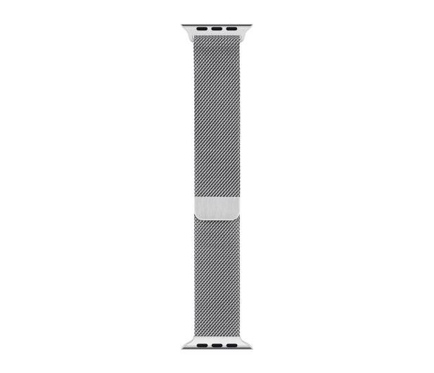 Apple Bransoleta Mediolańska do Apple Watch srebrny - 488013 - zdjęcie 3