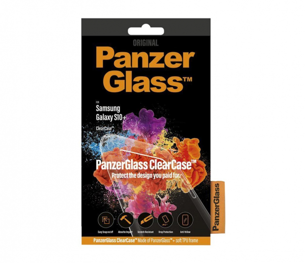 PanzerGlass Clear Case do Samsung Galaxy S10+  - 486575 - zdjęcie