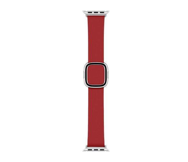 Apple Pasek z klamrą nowoczesną RED do koperty 40 mm M - 487898 - zdjęcie