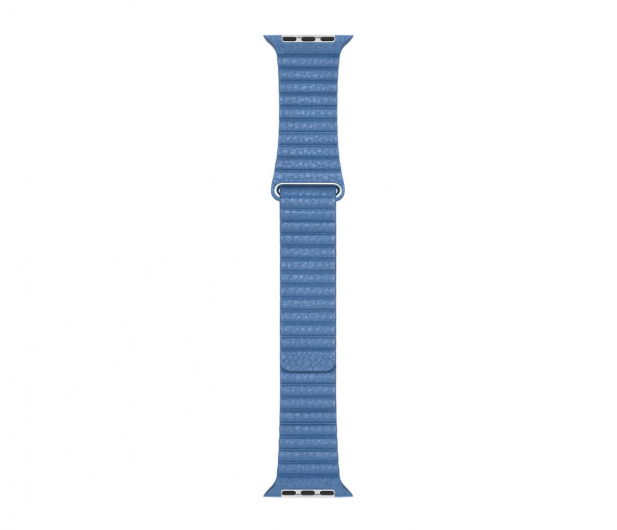 Apple  Opaska skórzana niebieska do koperty 44 mm L - 487997 - zdjęcie