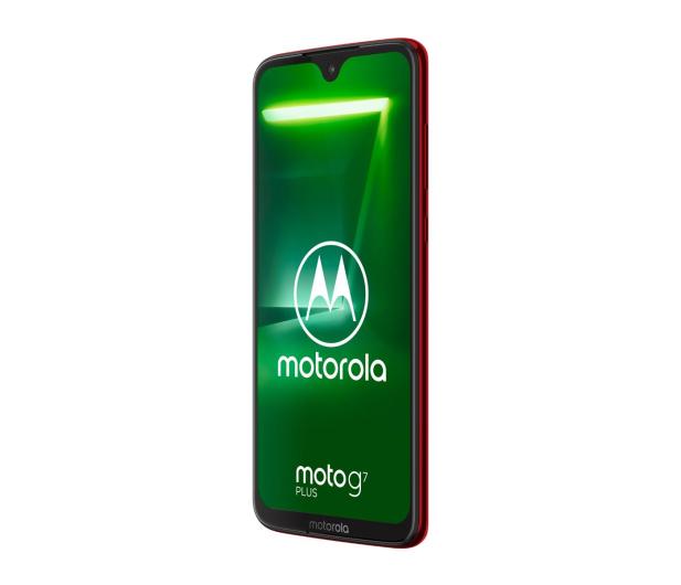 Motorola Moto G7 Plus 4/64GB Dual SIM czerwony + etui - 488348 - zdjęcie 2