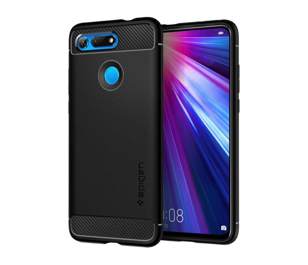 Spigen Rugged Armor do Honor View 20 Black - 486449 - zdjęcie