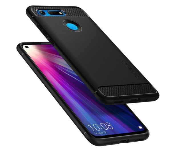 Spigen Rugged Armor do Honor View 20 Black - 486449 - zdjęcie 3