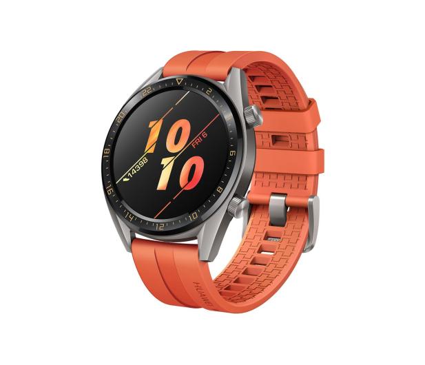 Huawei Watch GT Active pomarańczowy - 483724 - zdjęcie