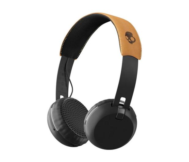 Skullcandy Grind Wireless Czarno-brązowe - 487918 - zdjęcie
