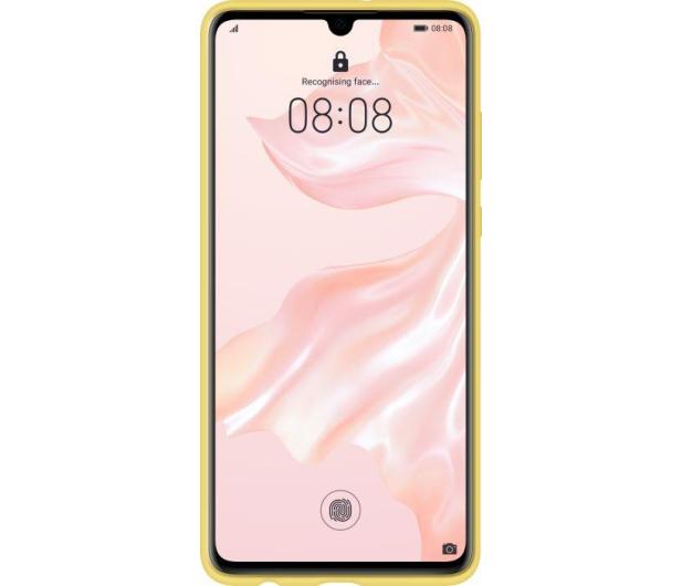 Huawei Silicone Case do Huawei P30 żółty - 484500 - zdjęcie 2