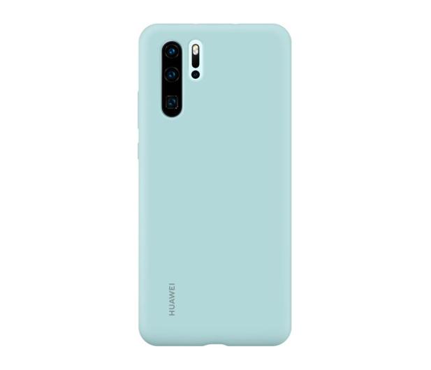 Huawei Silicone Case do Huawei P30 Pro jasny niebieski  - 484458 - zdjęcie