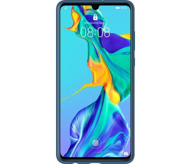 Huawei Silicone Case do Huawei P30 niebieski - 484499 - zdjęcie 2