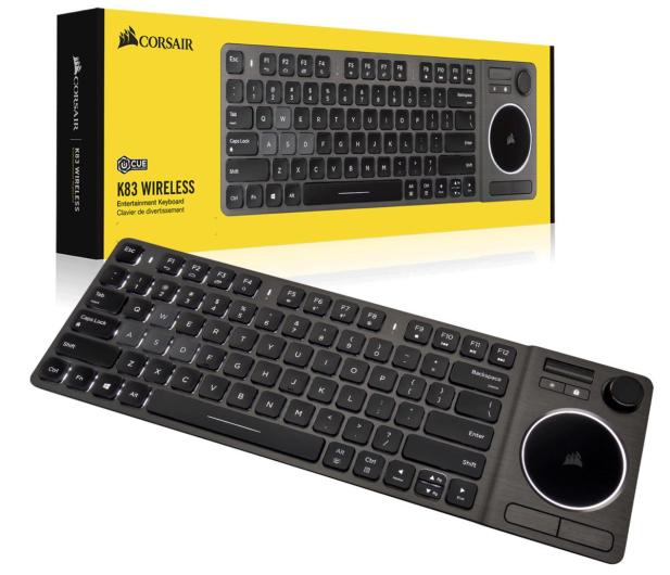 Corsair K83 Wireless Entertainment Keyboard - 488745 - zdjęcie 8