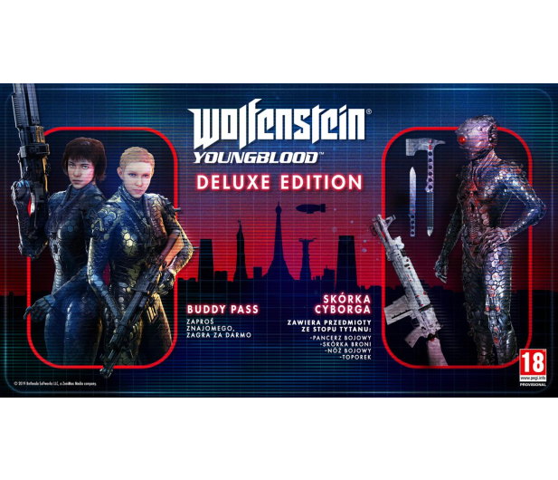 Machine Games Wolfenstein Youngblood Deluxe Edition - 489241 - zdjęcie 2