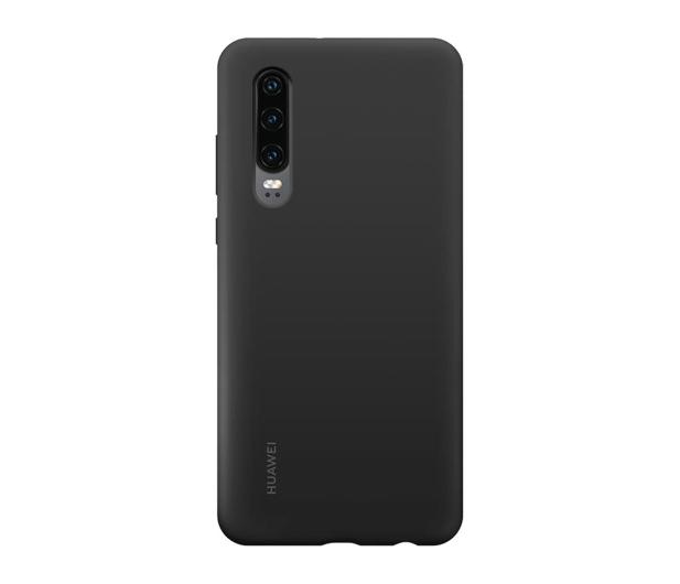 Huawei Silicone Case do Huawei P30 czarny - 484496 - zdjęcie