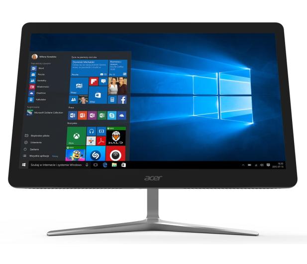 Acer Aspire Z24 i5-7400T/8GB/256/DVD/W10 Touch - 473242 - zdjęcie 2