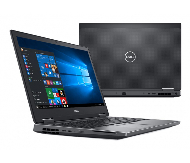 Dell Precision M7530 i7-8750H/8GB/256/Win10P P1000  - 493133 - zdjęcie