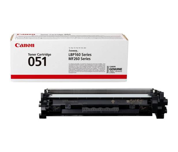 Canon CRG-051 czarny 1700str.  - 477570 - zdjęcie