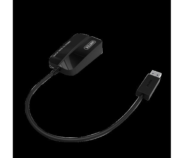 Unitek Adapter USB - 2x RJ-45 - 478225 - zdjęcie 2