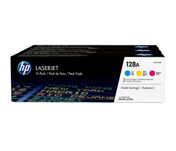 HP HP 128A CF371AM CMY 3szt. - 483646 - zdjęcie