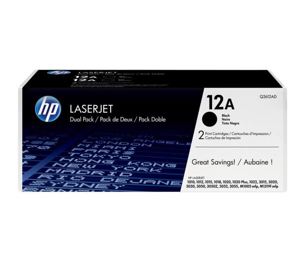 HP 12A  black 2szt - 483657 - zdjęcie