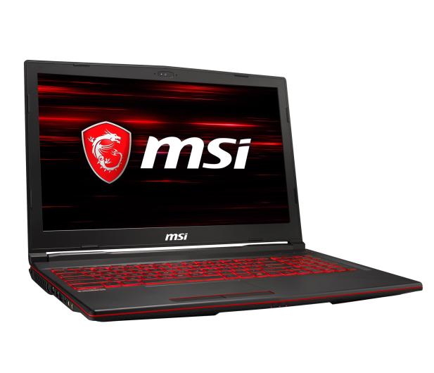 MSI GL63 i5-9300H/16GB/256/Win10X GTX1650  - 503107 - zdjęcie 4