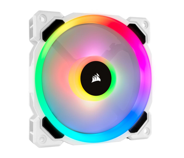 Corsair LL120 RGB White Single Fan - 484700 - zdjęcie