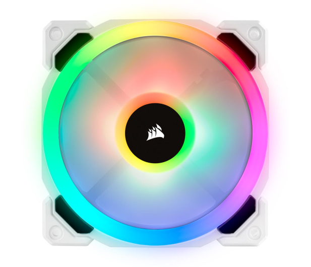 Corsair LL120 RGB White Single Fan - 484700 - zdjęcie 2