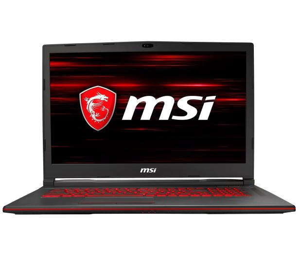 MSI GL73 i5-8300H/8GB/1TB/Win10X GTX1050 - 488405 - zdjęcie 2