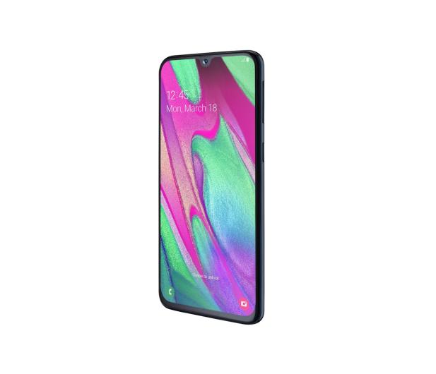 Samsung Galaxy A40 SM-A405FN Black  - 487572 - zdjęcie 4